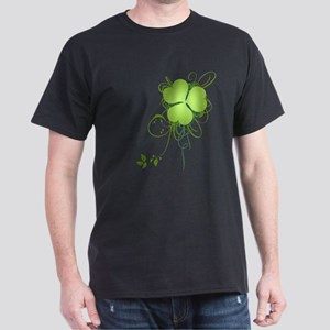 Shamrock [swirls] Dark T-Shirt